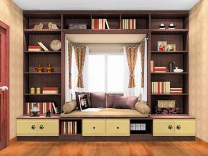 窗台榻榻米书柜