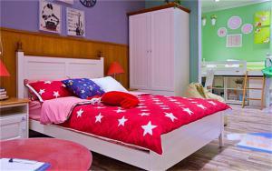 美式儿童房床品