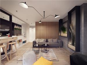 65平小户型装修全屋家具
