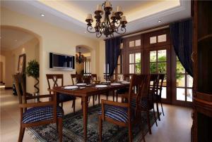 豪华中式餐桌图片欣赏