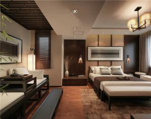小户型家庭卧室装修图片