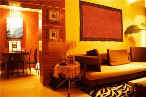 温馨新中式客厅家具