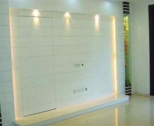 客厅隐形门装修效果图灯具