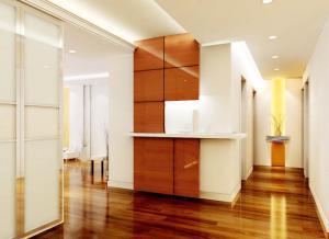 家装玄关效果图家具搭配