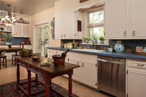 板材与不锈钢厨房橱柜