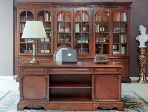 实木书柜设计图案例