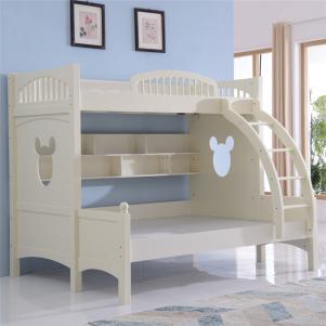 儿童上下床实木床架
