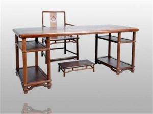 中式书桌3D模型