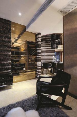 客厅装饰柜样板间