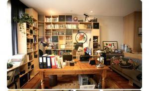 拼装收纳书柜