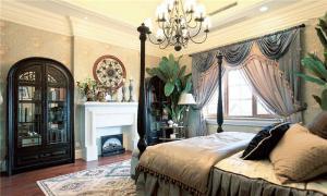 实木欧式卧室装修