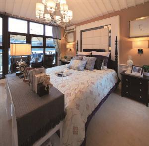 小清新卧室飘窗设计图片