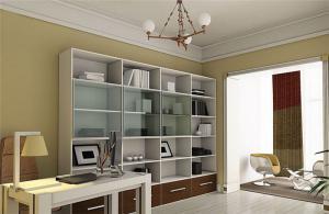 家庭书房装修效果图板式家