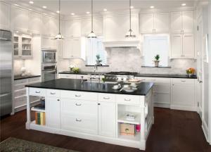 开放式厨房橱柜效果图下载