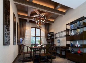 新中式设计组合书柜