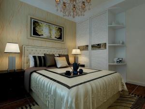 欧式背景墙卧室设计