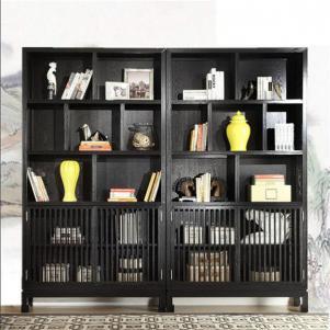 新中式书柜分享展示