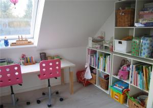 儿童房书柜搭配图