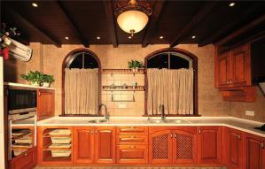 瓷砖厨柜设计案例