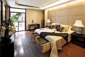 中式套房榻榻米床