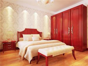 卧室转角衣柜图片欣赏
