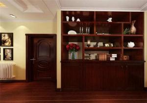 美式客厅装饰柜