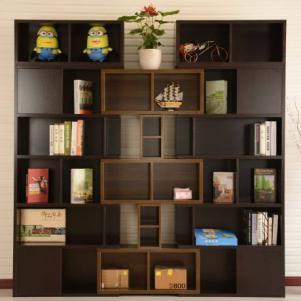 现代diy自由组合创意书柜