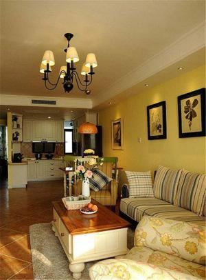 客厅组合沙发样板间