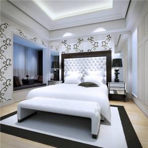 欧式奢华卧室装修设计图片