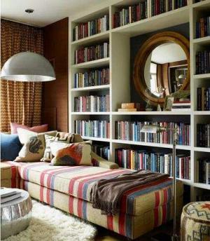 小书房书柜效果图大全