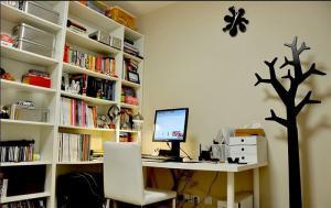 转角多功能书桌设计定制