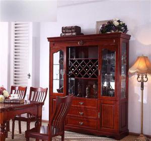 家用红酒柜红木家具