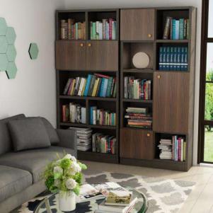现代简约组合书柜