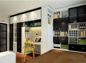 客房榻榻米书柜