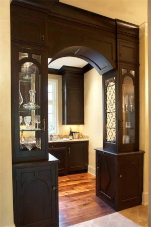 厨房隔断柜组合
