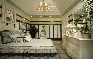 卧室床简欧家具