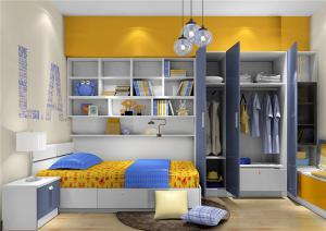 榻榻米卧室设计板材家具