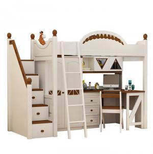 小户型上下床装修书桌书柜衣柜齐全