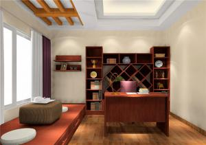 榻榻米书房装修效果图家具搭配