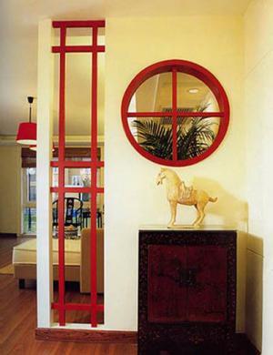 玄关墙装修效果图装饰物