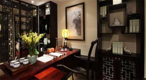 典雅复古中式酒柜