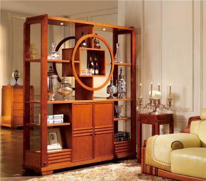 实木小酒柜图片