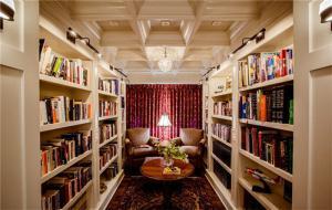 U型小书房书柜