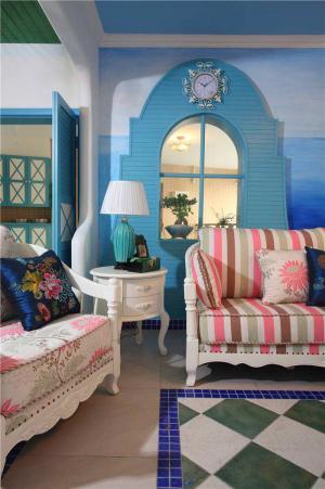 简易时尚沙发图片