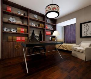 书房装饰设计素材免费下载图