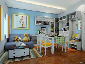 小客厅多功能书房装修效果图