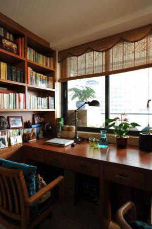古典经典中式书房装修效果
