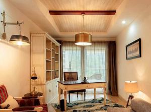 地中海风格书房装修设计