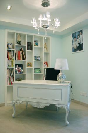 温馨美观书房布置效果图