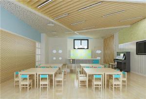 中式幼儿书房布置效果图